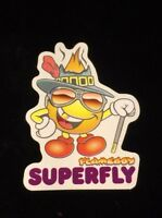 world industries Flameboy Super Fly skateboard stickers vintages  1997