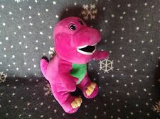 "BARNEY 13"" TALL SOFT PLUSH BEAN FILLED TOY EXCELLENT CONDITION"