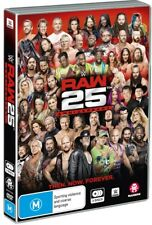 BRAND NEW WWE Raw 25th Anniversary (DVD, 2018, 3-Disc Set) *PREORDER R4