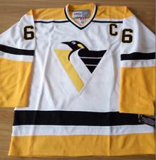 Penguins White Mario Lemieux Jersey M, L, XL, 2XL, 3XL