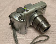 EUC Canon PowerShot A630 8.0MP Digital Camera - Silver, Batteries + 1GB Memory