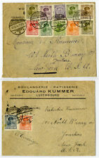 Luxembourg Matched 1920s Pair of Covers to New York