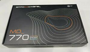 Mistel BAROCCO MD770 RGB Backlit TKL Split Mechanical Keyboard Cherry MX Silver