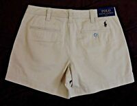 $89.5 Men Polo Ralph Lauren Pony Logo Twill Chino Beach Golf Mini Shorts 2 4 6