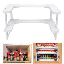Kitchen Shelf Spicy Spice Rack Stackable Organizer Bottle Storage Cupboard