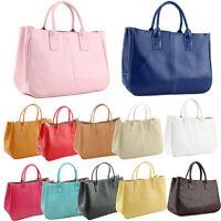 Women  Casual Handbag Elegant Shoulder Bag Leather Tote Messenger Bag Fashion
