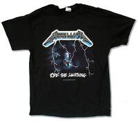 Metallica Ride The Lightning Electric Chair Black T Shirt New Official Merch
