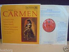 RARE HIGHLIGHTS BIZET CARMEN KARAJAN PRICE CORELLI RCA VICTOR RED SEAL LP UK