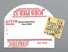 "Debby Boone ""SEVEN BRIDES FOR SEVEN BROTHERS"" Johnny Mercer '82 FLOP Ticket Stub"