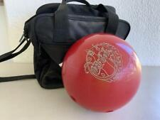 GREAT VINTAGE AMF ENJOY COCA COLA BOWLING BALL No. 0757 U.S.A + CARRY BAG