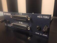 Yamaha MY16-AE AES/EBU Card NICE! AW4416 01V96 LS9 DM1000 DM2000 AW2 02R96