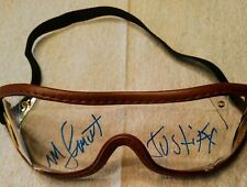 Mike Smith autograph goggles Justify 2018 triple crown