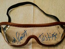 Mike Smith Justify triple crown  autograph     goggles