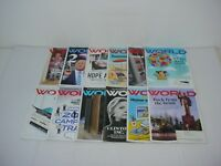 Lot of 12 World Magazines 2016 to 2018