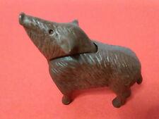 PLAYMOBIL, FIGURA JABALI JABATO WILD PIG ANIMAL BELEN BOSQUE CAMPO DIORAMA