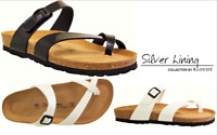 Cork footbed sandals Klouds Silver lining Shoes - Toledo - Made in Spain