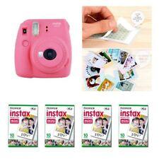 Fujifilm Instax Mini 9 cámara Flamingo Pink 4 Packs Fuji Film 40 Foto 8