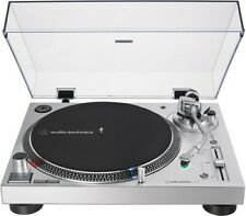 Audio Technica AT-LP120XUSB-SV Direct-Drive Fully Manual Turntable (An