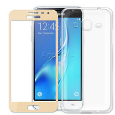 2in1 9H Tempered Glass Screen Protector + TPU Case for Samsung Galaxy Sky S320VL