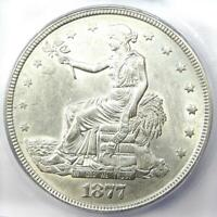 1877 Trade Silver Dollar T$1 (1877-P) - Certified ICG MS60 Details (MS UNC)