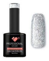XGBJ-002 VB™ Line Adamant Star Grey Silver - UV/LED soak off gel nail polish