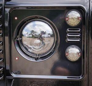 Land Rover Defender Headlight & Sidelight Bespoke Security Bolt kit - Uproar 4x4