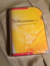 Microsoft Office One Note 2007 Retail version w/ Product Key