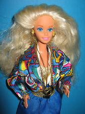 B317-vieja rubio sea Holiday barbie #5471 mattel 1992 original-ropa + joyas
