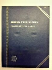 "Whitman Coin Folder ""Shield Type Nickel"" 1866-1883 New Old Stock"