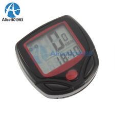 Bike Bicycle Cycling LCD Computer Odometer Speed Speedometer Waterproof