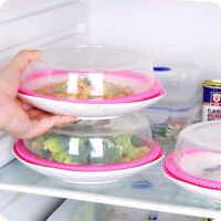 2X Plate Topper Universal Leftover Lid Microwave Cover Airtight Plate Topper