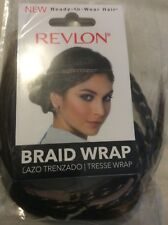 "Revlon Braid Wrap, Medium Brown 41"" Wrap, Twist Or Tie!"