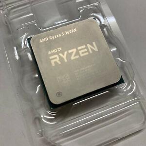 AMD Ryzen 5 3600X 3.8 GHz (4.4 GHz Turbo) 6 Cores / 12 Threads AM4 Processor CPU