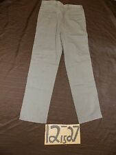NWT DOCKERS STRAIGHT FLAT FRONT TAUPE TWILL DRESS PANTS 36X29-WAIST-34 #Z349