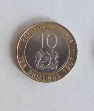 Münze Kenia Kenya - 10 Shillings 1997 -  UNC - KM# 27