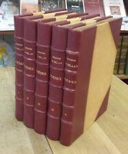 DU BELLAY - POESIES - complet 5 tomes - gravures de DEUSENRY - EN TRES BON ETAT