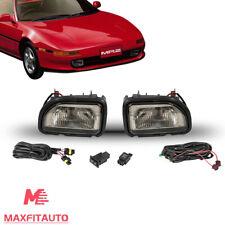 Fits For Toyota MR2 1991-1995 Front Bumper Driving Fog Light Lamp Kit Smoke