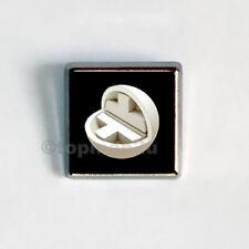 New, Quality Square Metallic Pin Badge - Take That - 30 yrs - 2019 Tour Souvenir