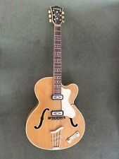 Hofner Guitar:President:Vintage 1965:Archtop:Electro-acoustic:Excellent .