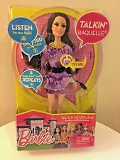 NEW Malibu Barbie Life in the Dreamhouse Doll Talking RAQUELLE Listen & Record