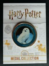 Hedwig owl - Harry Potter Medal Collection Official Wizarding World