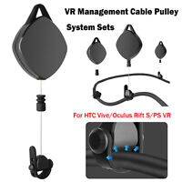 VR Pulley Cable Management Cable Pulley System for HTC Vive/Oculus Rift S/PS VR