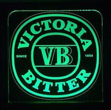 Victoria Bitter,VB LED Sign,Edgelit,Bar,Mancave,Led,Remote Control,Light,Gift