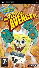 SPONGEBOB SQUAREPANTS THE YELLOW AVENGER PSP