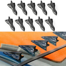 modified car decoration tail black tip shark fin car roof baffle for vehicalsM&C