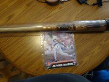 Jerome Walton Autographed Photo & Powerized Louisville Slugger Bat Chicago Cubs