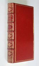 Comte de Grammont Histoire amoureuse cour d'Angleterre Hamilton 1713 EO Reliure