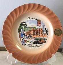 N17: Assiette De Collection Et De Décoration Voir Photos 24,5 Cm Monaco