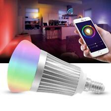 E14 9W RGBW WiFi LED Smart Globe Bulbs Fit for Alexa Google Home Voice Control