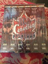 100 Years of Canadian Sports - 6 VHS Video Tapes - TSN - New